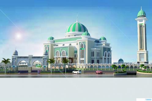 Master Plan Masjid Tabligiyah, Garegeh Bukittinggi