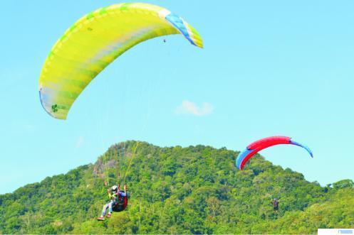 Kegiatan Aerosport di Payakumbuh. NITA