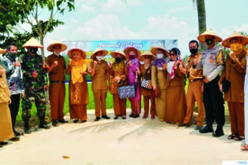 Di sela-sela acara penilaian pemilihan perempuan inspiratif tingkat Kota Payakumbuh, Selasa (06/10/2020). IST