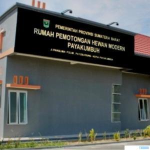 Rumah Potong Hewan (RPH) Modern Kota Payakumbuh. NET