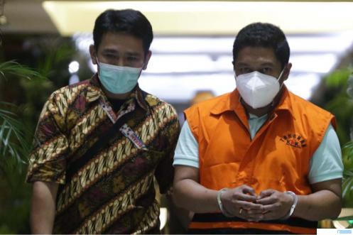 Penyidik KPK asal Polri, AKP Stepanus Robin Pattuju, diduga menerima suap Rp 1,3 miliar dari Wali Kota Tanjungbalai, H.M. Syahrial. NET