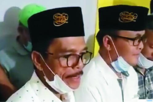 Pasangan Cabup-Cawabup Kabupaten Limapuluh Kota, Safaruddin-RKN (Safari) yang mendeklarasikan kemenangannya, Rabu (09/12/2020) malam. FB