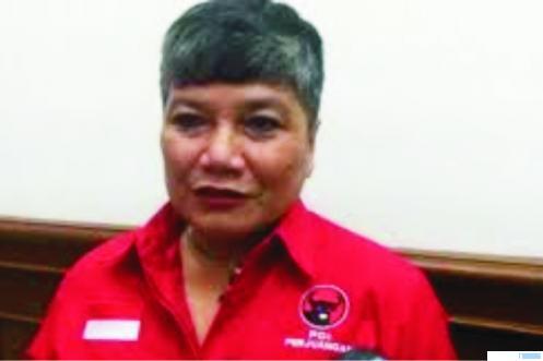 Ribka Tjiptaning, anggota DPR RI Fraksi PDI-P yang memilih bayar denda ketimbang divaksin Covid-19. NET