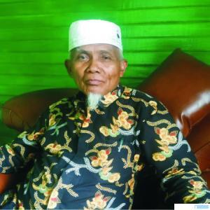 Buya H. Sudirman Syair, Pimpinan Ponpes Ma'arif As Sa'adiyah, Batu Nan Limo, Simalanggang, Kabupaten Limapuluh Kota. NITA
