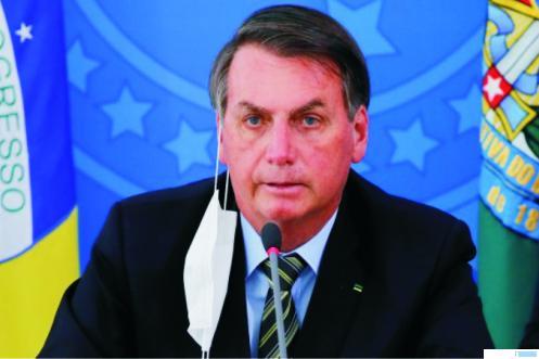 Presiden Brasil Jair Bolsonaro. Net
