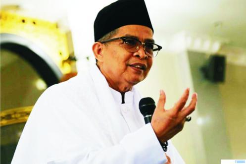 H. Boy Lestari Dt.Palindih, yang baru saja meninggal dunia, Sabtu (09/01/2021) pukul 05.50 WIB di RUSP M. Djamil, Padang. NET