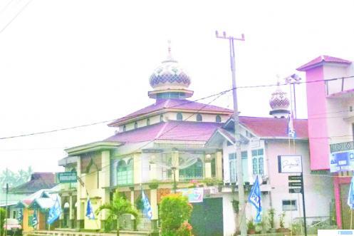 Masjid Muslimin Balai Cacang, Payakumbuh Utara. ERZ