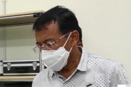 Rektor Universitas Negeri Padang (UNP) Prof. Ganefri, Ph.D dinyatakan sudah sembuh dan negatif Covid-19. IST