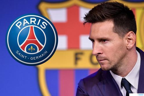 Lionel Messi pemain baru PSG yang bebas transfer dari Barcelona, Selasa (10/08/2021) WIB. NET