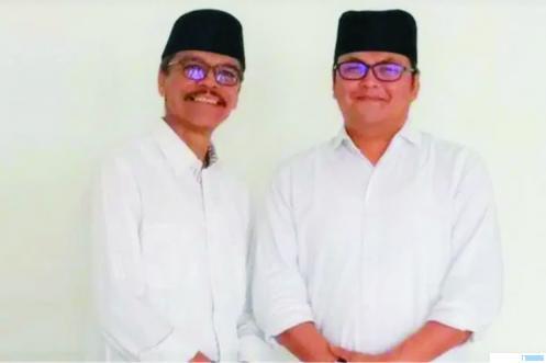 Pasangan Cabup-Cawabup Limapuluh Kota, Safaruddin Dt Bandaro Rajo - Rizki Kurniawan Nakasri (RKN). NET