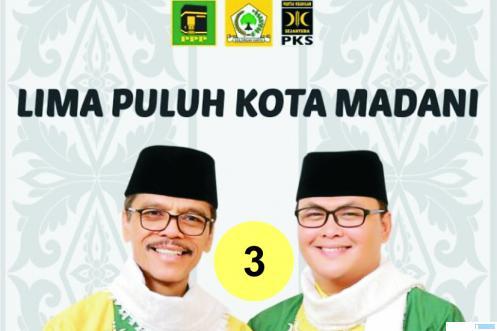 Pasangan Cabup-Cawabup Limapuluh Kota, Safaruddin-Rizki Kurniawan Nakasri (RKN). JNC