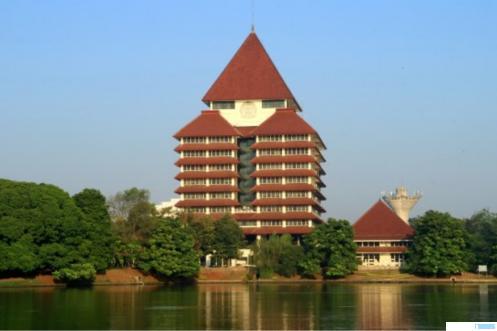 Gedung Rektorat Universitas Indonesia (UI). NET