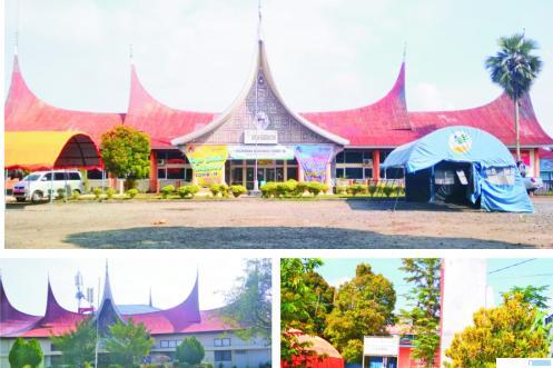 Eks Kantor Bupati Limapuluh Kota di jantung Kota Payakumbuh. ERZ