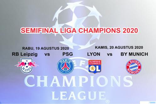 Skema Semifinal Liga Champions 2020. JNC