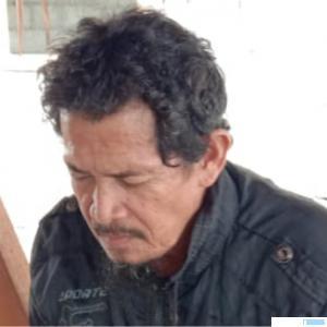 Hendri Notokusumo, warga Gunung Medan Kabupaten Dharmasraya yang sempat dinyatakan hilang. DI