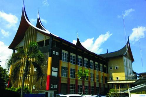 Kantor Gubernur Sumatera Barat (Sumbar) di Jl. Sudirman, Kota Padang. NET