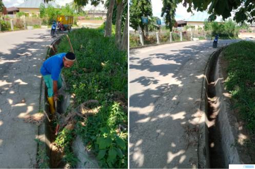 Satgas Apel Batiah (Satuan Tugas Aksi Peduli Lingkungan Bersih, Asri, Indah, Anggun dan Harmonis) di wilayah kecamatan tersebut, setiap hari Rabu sekali sepekan. DOK.PYK UTARA