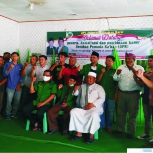 Acara sosialisasi dan pembinaan kader oleh DPC PPP Pasbar. RIZAL