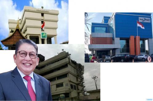 H. Suryadi Asmi, SE, MM Dt. Rajo Nan Sati, mantan Dirut Bank Nagari 2 periode mengenang dahsyatnya musibah gempa yang mengguncang Kota Padang dan Kab/Kota lainnya di Sumbar, 30 September 2009 pukul 17:16:10 WIB, genap 12 tahun lalu, saat Suryadi menjabat Dirut periode pertama. IST/JNC