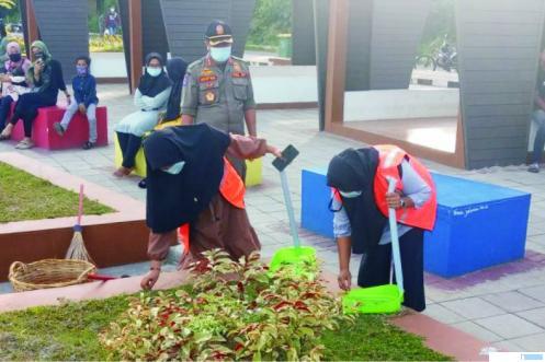Tak Bermasker, 30 Orang Terjaring Razia di Taman Batang Agam