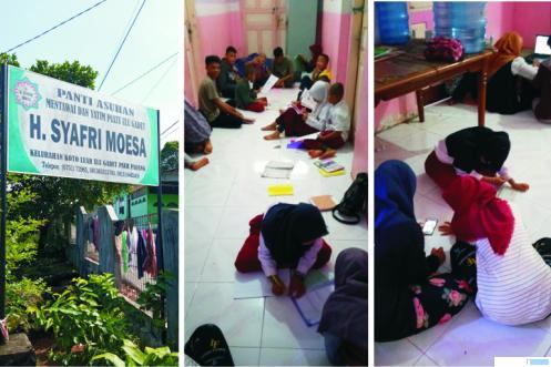 Panti Asuhan Mentawai di Ulu Gadut Padang yang 65 anak asuhnya kini menunggu uluran tangan, karena operasional panti asuhan itu terganggu sejak pandemi Covid-19. PZV