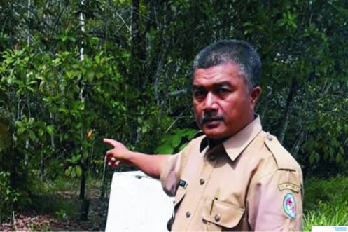 Taufik JS, Wali Nagari Tanjung Pauh, Kecamatan Pangkalan Koto Baru, Kabupaten Limapuluh Kota. FB