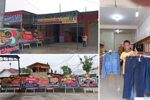 Toko Boutique Import Payobada Buka di Sarilamak