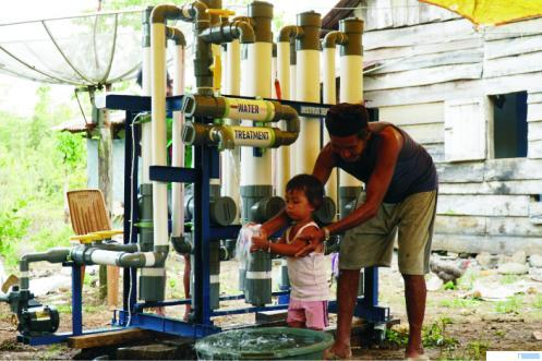 Warga Nagari Inderapura, Kecamatan Pancung Soal, Kabupaten Pesisir Selatan (Pessel), Sumatera Barat gembira setelah alat Water Treatment buatan Institut Teknologi Padang (ITP) telah terpasang di nagarinya. Warga yang selama ini susah mendapatkan air bersih, karena tinggal di daerah yang dekat laut, kini bisa menikmatinya. Mereka berterima kasih atas perhatian kampus ITP. HUMAS ITP
