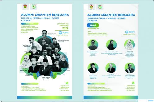 Webinar Ika Smanten Padang dengan tema