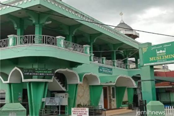 Masjid Muslimin, Labuh Baru, Kota Payakumbuh.IST
