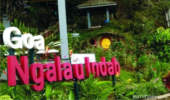 Merek Objek Wisata Goa Ngalau Indah. Net