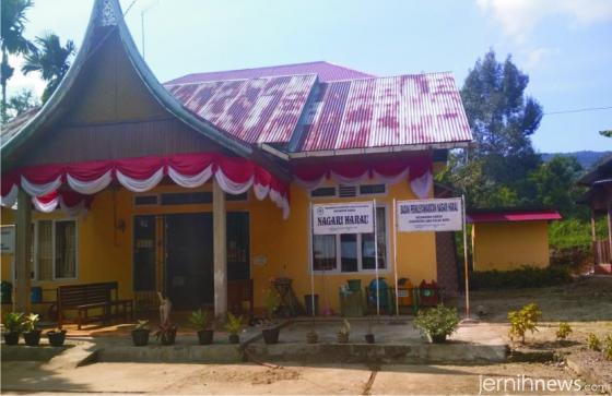 Kantor Wali Nagari Harau, Kecamatan Harau, Kabupaten Limapuluh Kota. ERZ