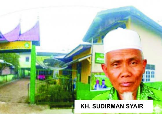 KH. Sudirman Syair, Rais Syuriah PC NU Kab. Limapuluh Kota. JNC